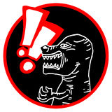 Carnivore icon Stock Photo