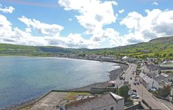 Carnlough Harbour Glencloy, Co. Antrim Northern Ireland. Carnlough Harbour Glencloy, Co. Antrim Coastline Northern Ireland stock photography