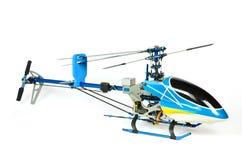 carnopy无线电操纵的直升机的模型 免版税库存照片