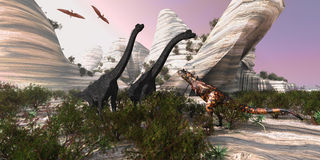 Carnotaurus Photos stock
