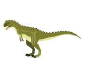 Carnotaurus Immagine Stock Libera da Diritti