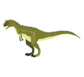 Carnotaurus. The illustration of The Carnotaurus Royalty Free Stock Image