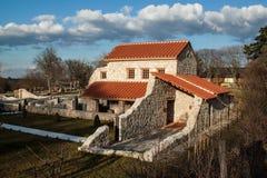 Carnuntum museum Royaltyfria Foton