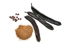 Carob Royalty Free Stock Image