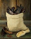 Carob fruits royalty free stock photography