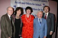 Carol Channing,Gary Owens,Jo Anne Worley,Arte Johnson,Lily Tomlin,Jo Ann Worley Royalty Free Stock Photos