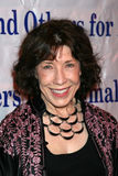 Carol Channing, Lily Tomlin. Lily Tomlin arriving at  the Actors & Others for Animals Roast of Carol Channing at the Universal Hilton Hotel in Los Angeles, CA on Stock Photos