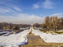 Carol Park från Bucharest royaltyfri bild