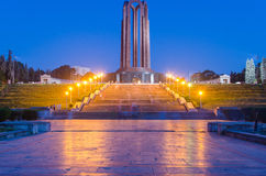 The Carol Park Mausoleum. (Mausoleul din Parcul Carol), known during the Communist régime as the Monument of the Heroes for the Freedom of the People and of Royalty Free Stock Images