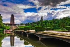 Carol Park. (Romanian: Parcul Carol) is a public park in Bucharest, Romania, named after King Carol I of Romania Stock Photography