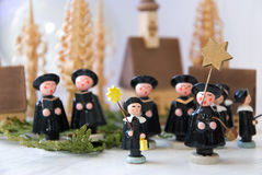 Carol singers Stock Images