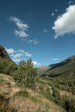 Carol valley in  Pyrenees orientales,  France Stock Images