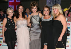 Carol Vorderman, Denise Welch, Lisa Maxwell, Maxwell, Sally Lindsay Stock Photography