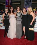 Carol Vorderman, Denise Welch, Lisa Maxwell, Maxwell, Sally Lindsay Stock Photos