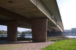 Carola桥梁- I -德累斯顿-德国 图库摄影