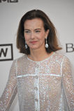Carole Bouquet. ANTIBES, FRANCE - MAY 22, 2014: Carole Bouquet  at the 21st annual amfAR Cinema Against AIDS Gala at the Hotel du Cap d'Antibes Royalty Free Stock Image
