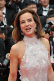 Carole Bouquet. CANNES, FRANCE - MAY 14, 2014: Carole Bouquet at the gala premiere of Grace of Monaco at the 67th Festival de Cannes Stock Images