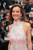 Carole Bouquet. CANNES, FRANCE - MAY 14, 2014: Carole Bouquet at the gala premiere of Grace of Monaco at the 67th Festival de Cannes Stock Photos