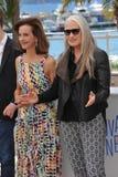 Carole Bouquet & Jane Campion Stock Image