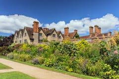 Carolean庭院, Packwood议院,沃里克郡,英国 免版税图库摄影