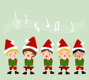 Carolers Stock Photo