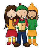 Carolers Stock Photos