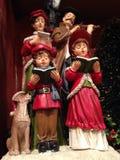 Carolers do Natal Foto de Stock Royalty Free