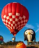 Hot Air Balloons at Carolina BalloonFest stock photo