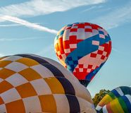 Hot Air Balloons at Carolina BalloonFest royalty free stock photography