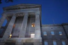 Carolina Capitol Building del norte en Raleigh imágenes de archivo libres de regalías