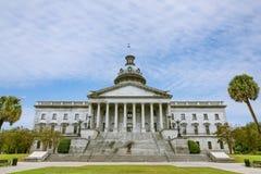 Carolina Capitol Building sul imagem de stock royalty free