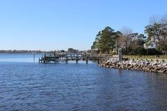 Carolina Dock del nord Fotografie Stock Libere da Diritti