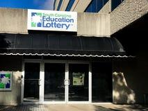 Carolina Education Lottery del sud su Main Street, Colombia, Sc Immagine Stock Libera da Diritti