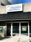 Carolina Education Lottery sul em Main Street, Colômbia, SC Imagem de Stock