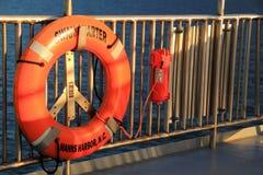 Carolina Ferry Lifesaver del norte fotografía de archivo