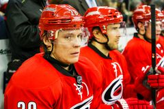 Carolina Hurricanes Alexander Semin Stock Photos