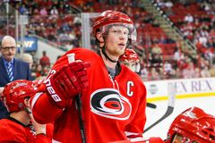 Carolina Hurricanes center Eric Staal Royalty Free Stock Images