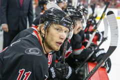 Carolina Hurricanes center Jordan Staal Stock Photography