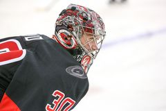 Carolina Hurricanes goalie Cam Ward Royalty Free Stock Images