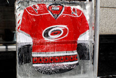 Carolina Hurricanes jersey Royalty Free Stock Photo