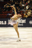 Carolina Kostner 2011 Italian Champion ice skater Stock Images