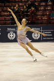 Carolina Kostner 2011 Italian Champion ice skater Royalty Free Stock Photo