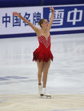 Carolina Kostner (ITA) royalty-vrije stock afbeelding