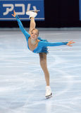 Carolina KOSTNER (ITA) free skating Royalty Free Stock Photos