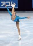 Carolina KOSTNER (ITA) free skating Royalty Free Stock Photos