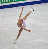 Carolina Kostner of Italy stock image