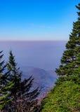 Carolina Mountain Range del norte Fotos de archivo libres de regalías