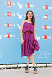 Carolina Pavone al Giffoni Film Festival 2015 Royalty Free Stock Photography