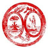 Carolina Seal Stamp du sud Images libres de droits