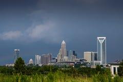 Carolina Sky em Charlotte 2 Fotos de Stock